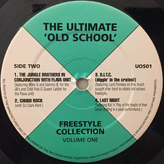 V.A.:THE ULTIMATE  OLD SCHOOL FREESTYLE COLLECTION(LABEL SIDE-B)