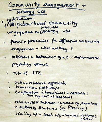ESRC Complexity Seminar 2 flipcharts