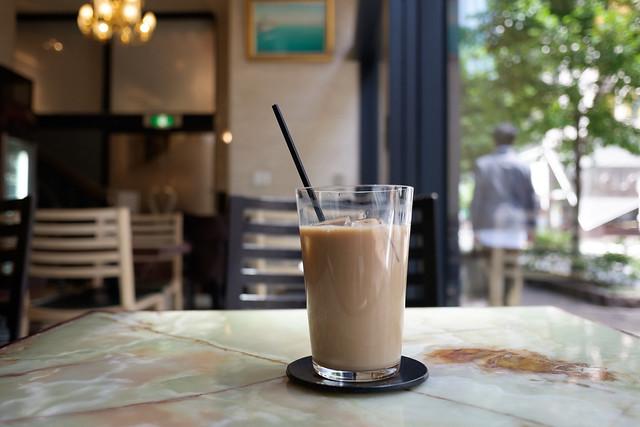 東京凮月堂のアイスミルクコーヒー 2017/05/02 X7007852
