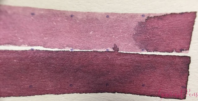 Ink Shot Review @RobertOsterInk Australian Opal Mauve @NoteMakerTweets 5