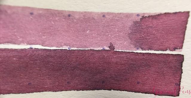 Ink Shot Review @RobertOsterInk Australian Opal Mauve @NoteMakerTweets 5
