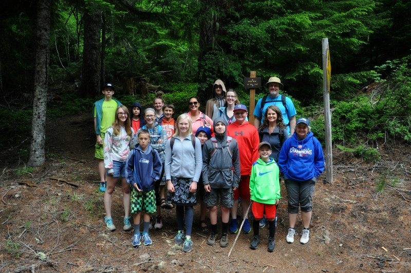 Iron Mountain Hiking Crew @ Mt. Hope Chronicles