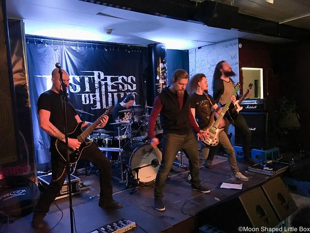 BIDBloggerBloggaajaLifestyleTyyliMuotiPäiväKuvina-12 Distress of Ruin Keikka LaBarre La Barre suomalaista metallia melodic deathmetal from Finland musiikki