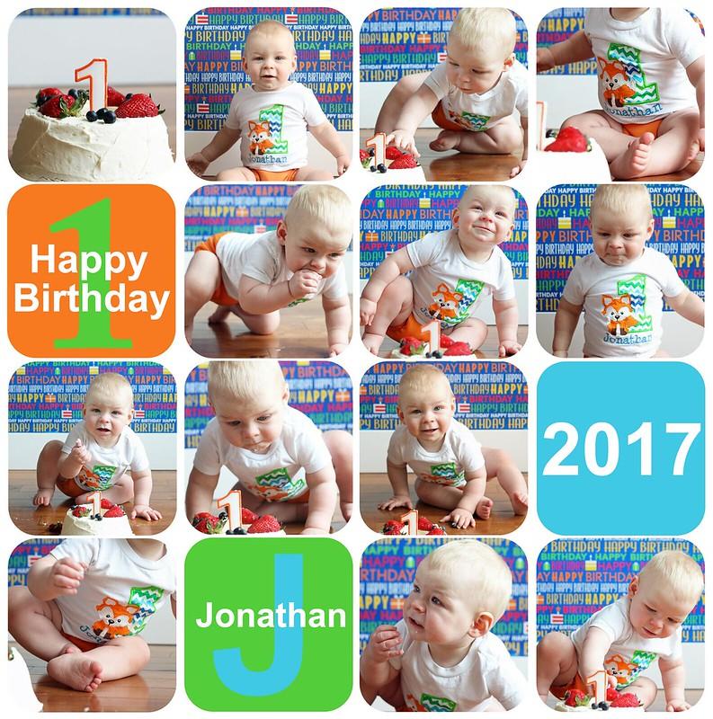 Jonathan's Cake Smash
