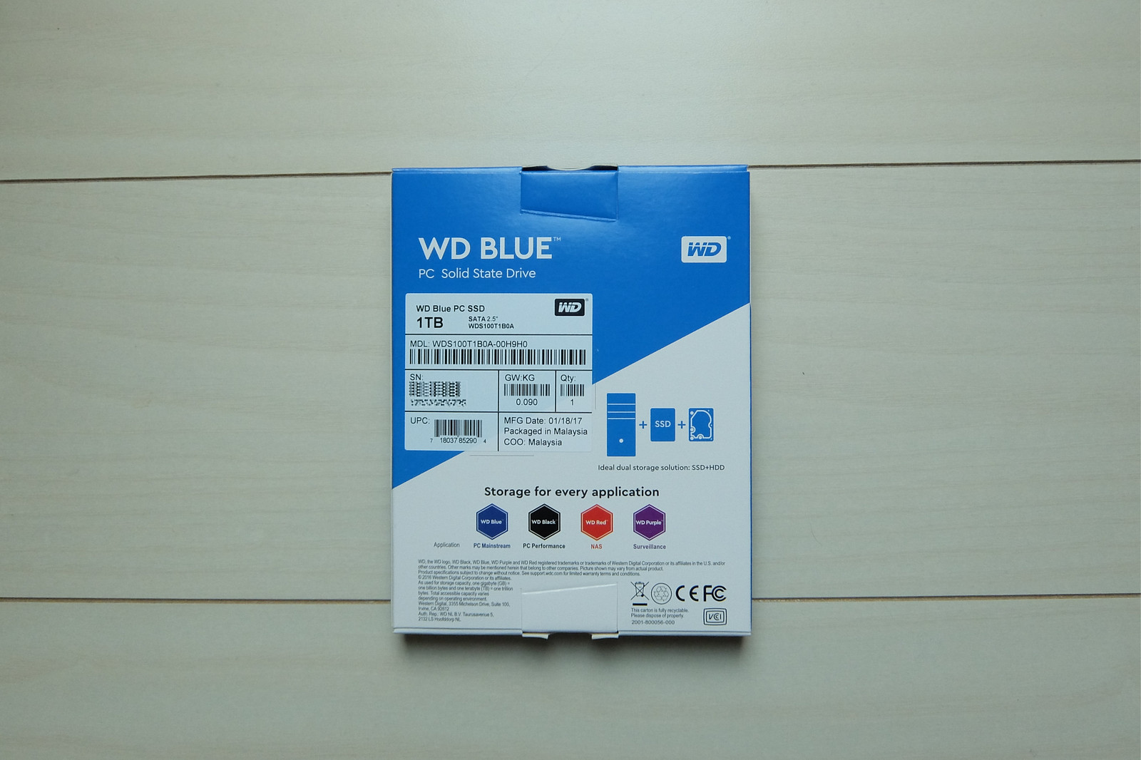Western Digital SSD WD BLUE