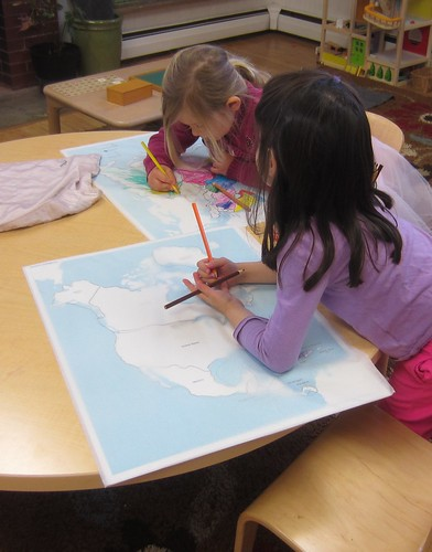Tracing countries