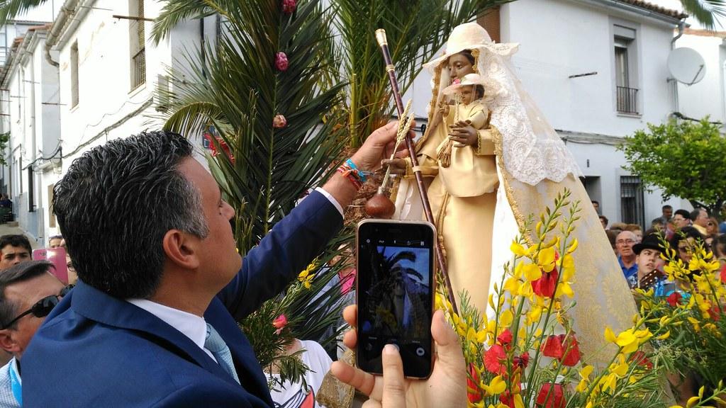 La Virgen de Argeme será trasladada hoy a la Parroquia de San Ignacio de Loyola