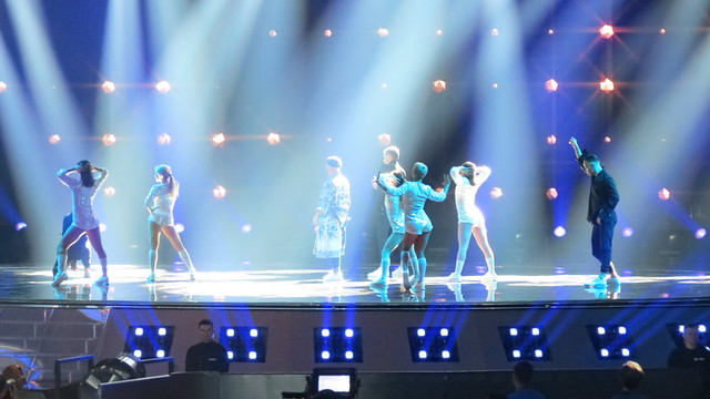 Semi-final 1 dress rehearsal