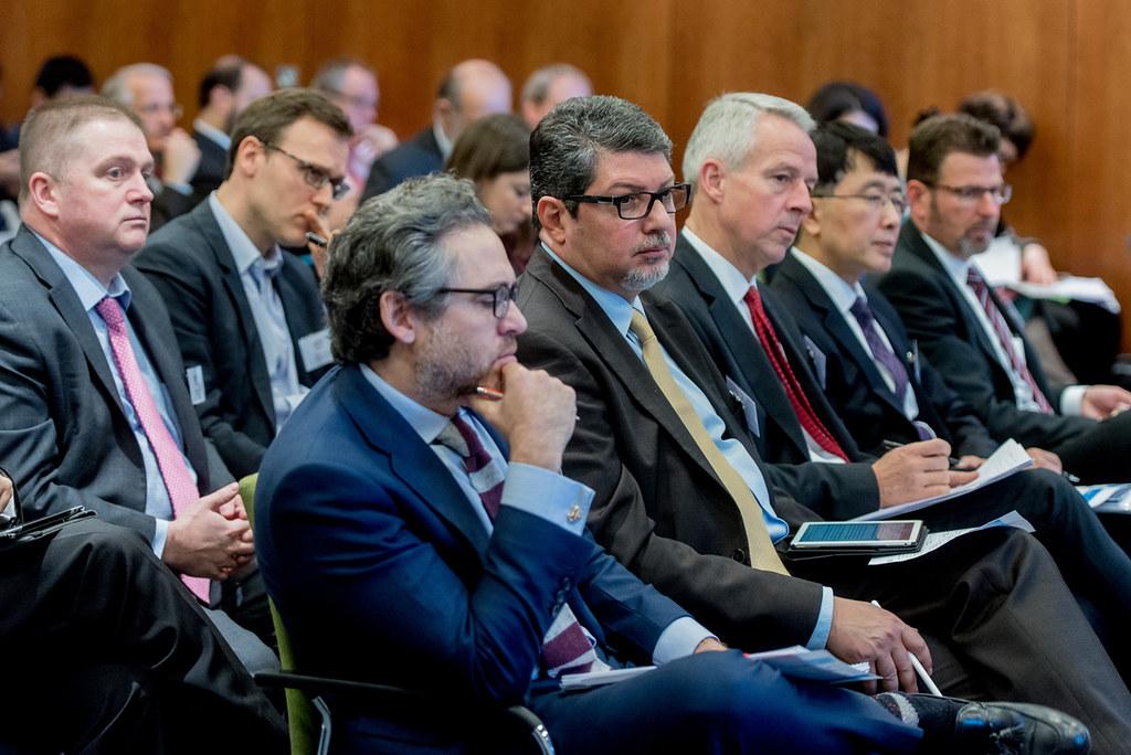 2017/5/3,德國柏林B20會議上的企業界人士。攝影:Christian Kruppa