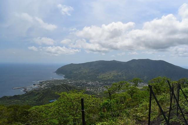八丈富士七合目登山口からの展望