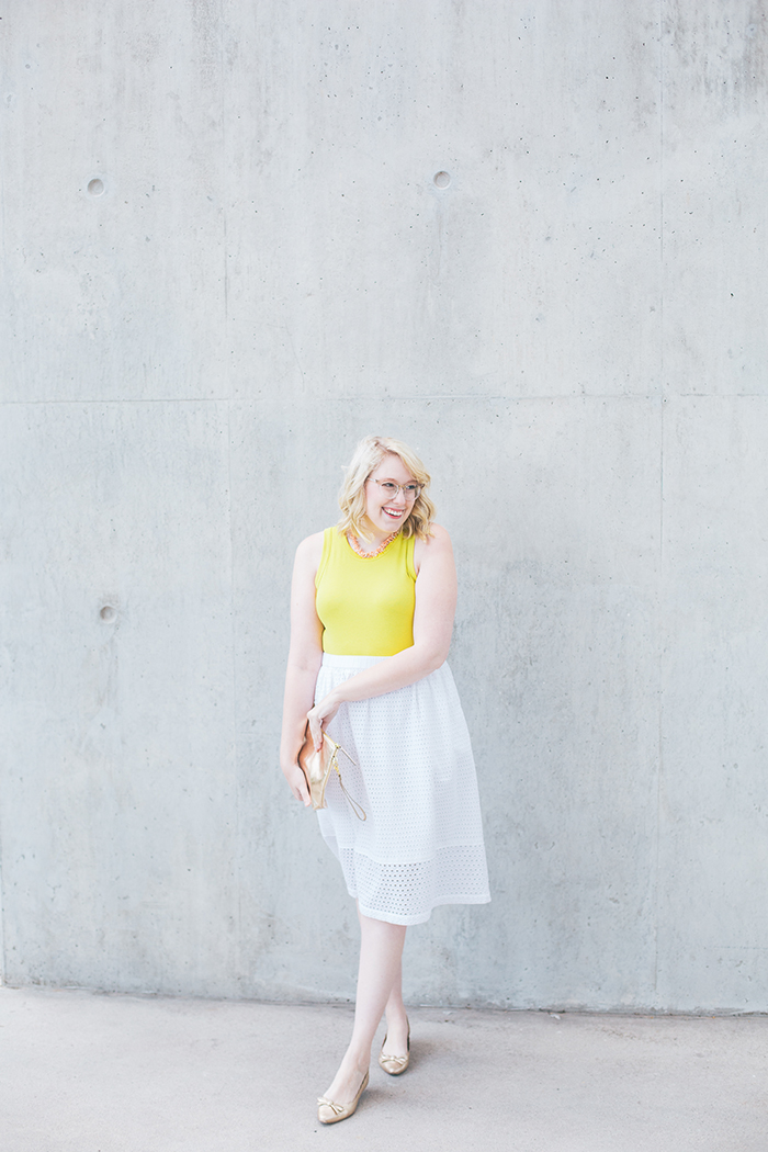 austin fashion blogger writes like a girl white eyelet skirt10