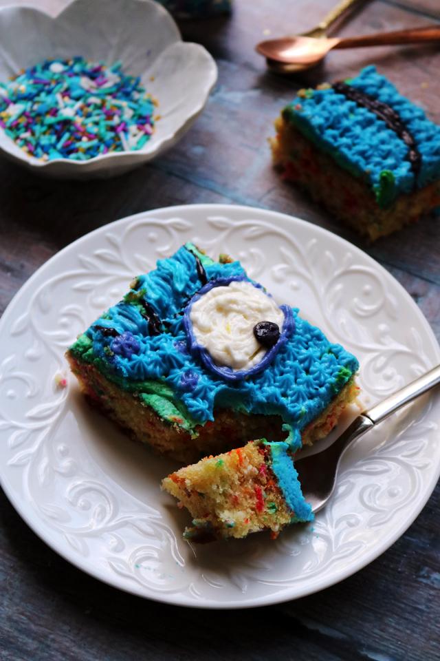 Funfetti Sheet Cake
