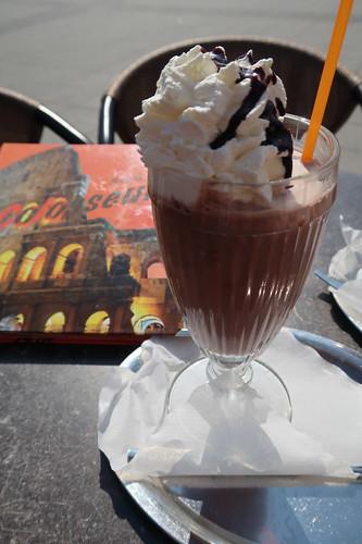 Eisschokolade (im Eiscafé Colosseum im Hannover Hbf)