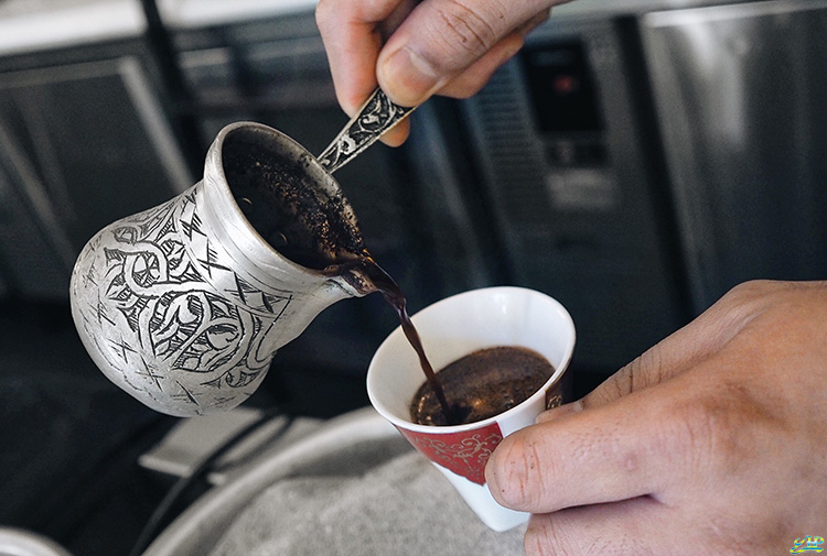 Turkish coffee at Fat Prince Singapore
