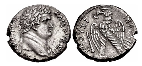 ELEUCIS and PIERIA Tetradrachm