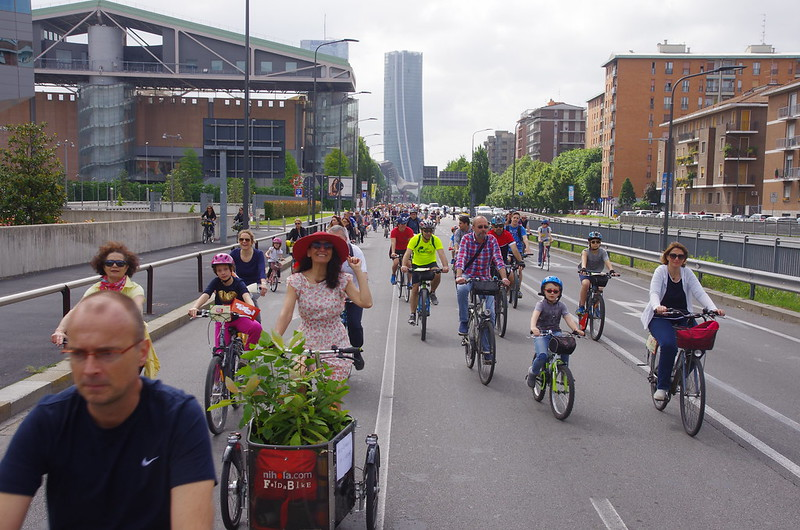 CycloPride Milano - Bike Parade