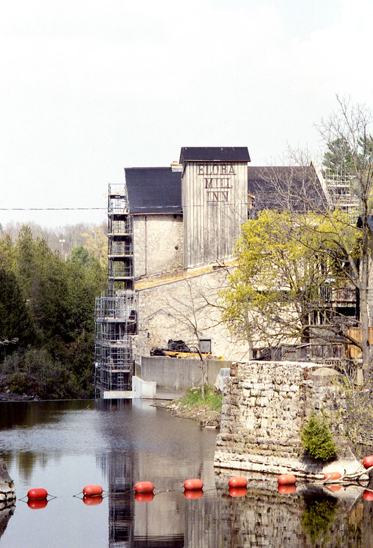 Elora Mill Inn Under Construction