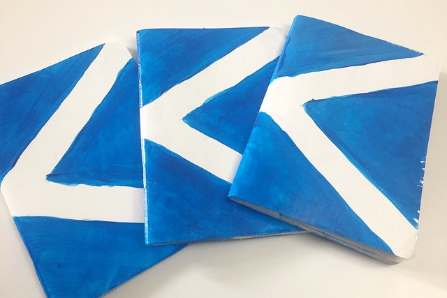 Scotland Flag Travel Journals