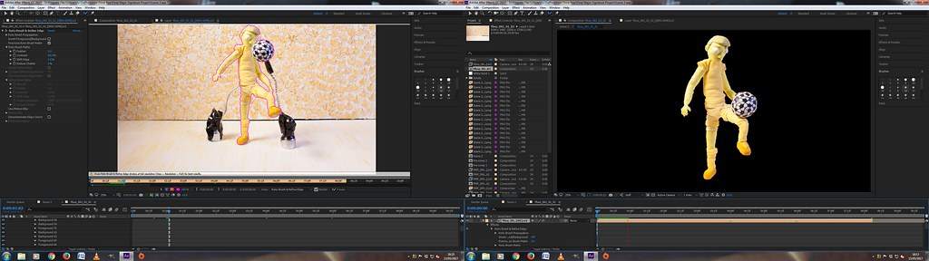 Editing - After Effects - Rig Removal