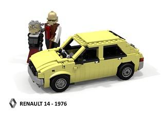 Renault 14 - 1976
