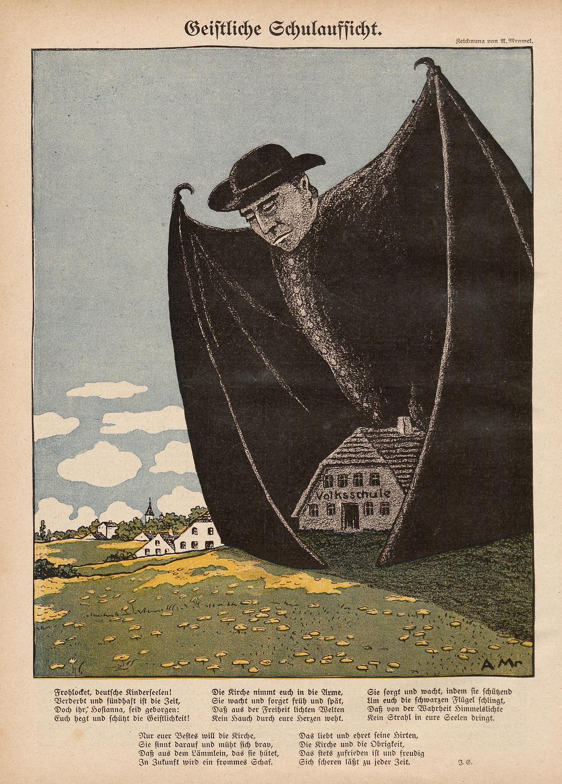 A. Mrawek  - Geistliche Schulaufsicht, 1910