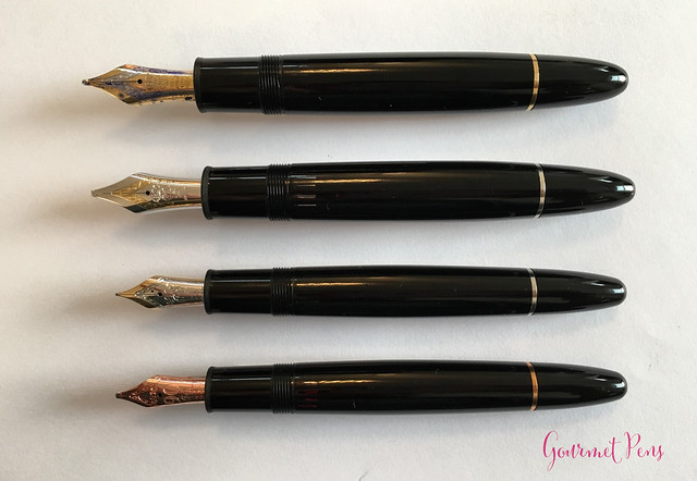 Review Montblanc Meisterstück 149 Platinum Fountain Pen - Oblique Triple Broad @Montblanc_World @AppelboomLaren 9