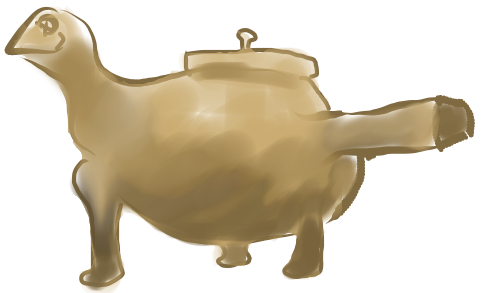 青銅器展 奈良国立博物館 急須 ボット