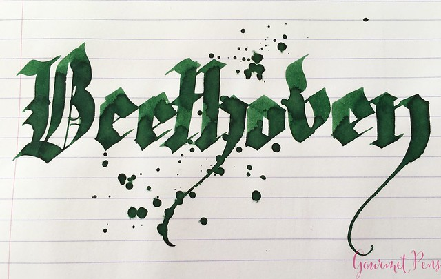 Ink Shot Review Diamine Music Beethoven @AppelboomLaren 6