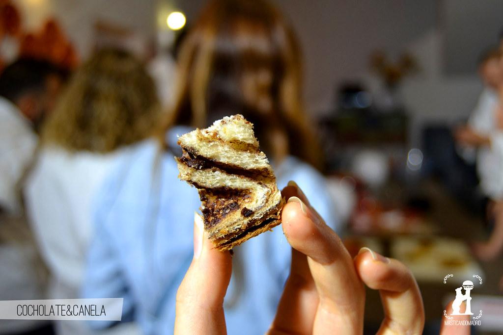 Pan de chocolate y canela