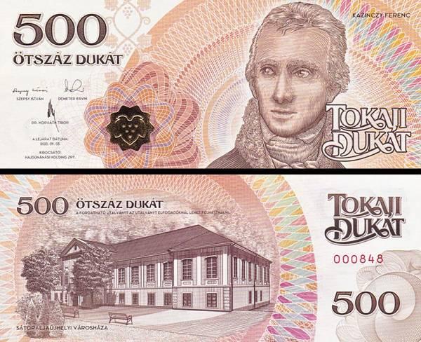 HAJDÚNÁNÁS (Maďarsko) 500 Tokaji Dukat