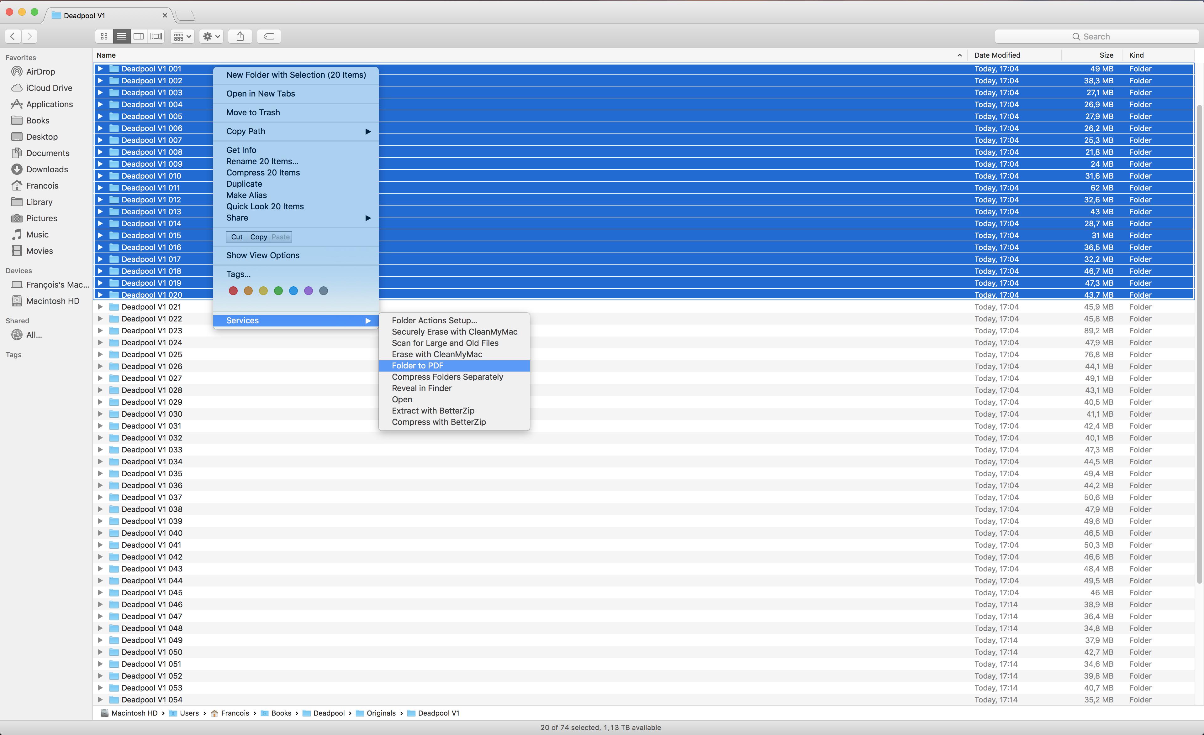 Folder to PDF
