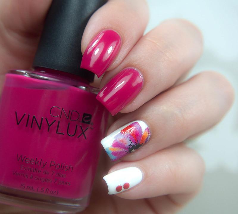 CND Vinylux Pink Leggings