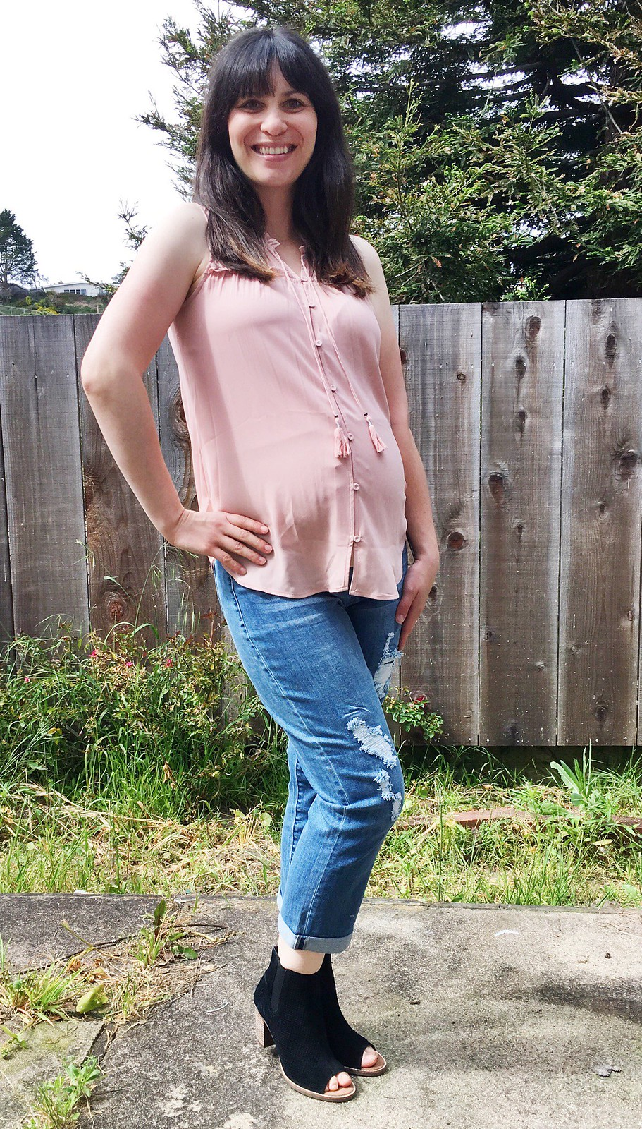 Stitch Fix #3 {Maternity} + $150 Mother's Day giveaway