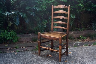 ladder back chair | by murot