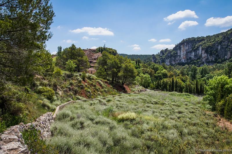 Farena y Lo Castellot desde el Camí de la Solana