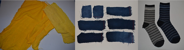 Puppet Making - Fabric Tests
