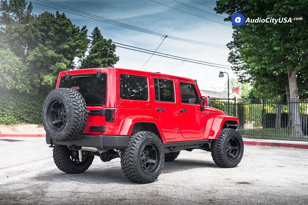 Jeep Jk 3. Tires >> 2016 Jeep Wrangler JK Rubicon | 20x12 XD Wheels XD827 Satin Black | 35x12.5x20 Lionhart MT | 4 ...