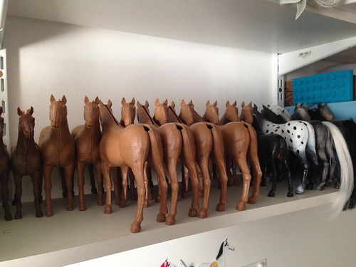 Behind the scenes at Magpie Model Horses