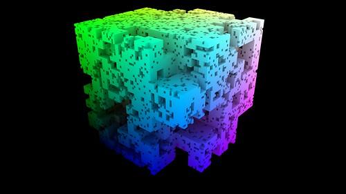 Mitsuba 3D Cube Divider render