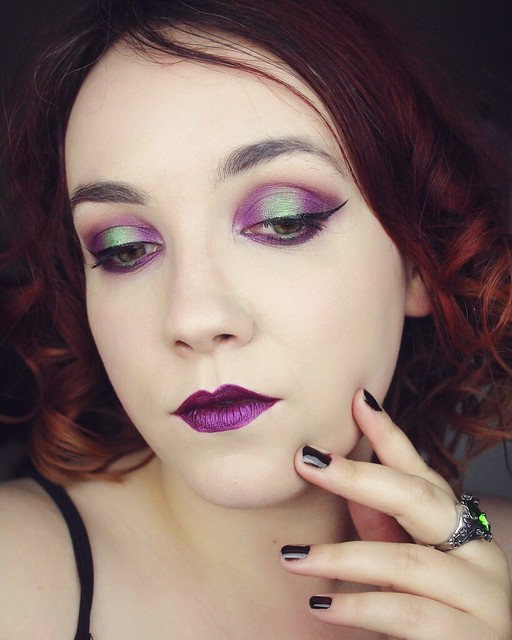 Poison makeup look - Big or not to big (5)