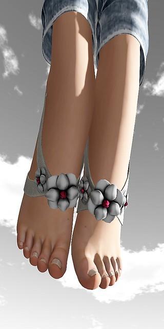 P@perDoll's - Feet spring ribbon