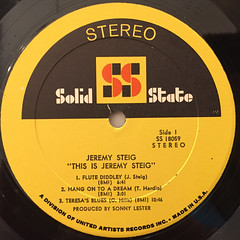 JEREMY STEIG:THIS IS JEREMY STEIG(LABEL SIDE-A)