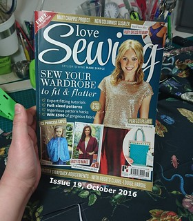 Love Sewing Magazine 1 - Issue 19 Cover