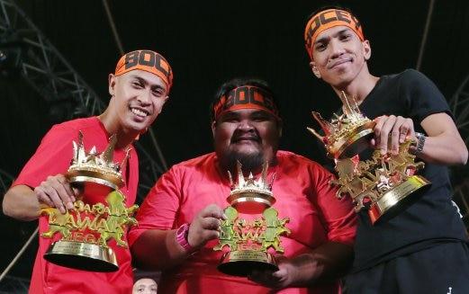 Bocey Juara Maharaja Lawak Mega (MLM) 2017