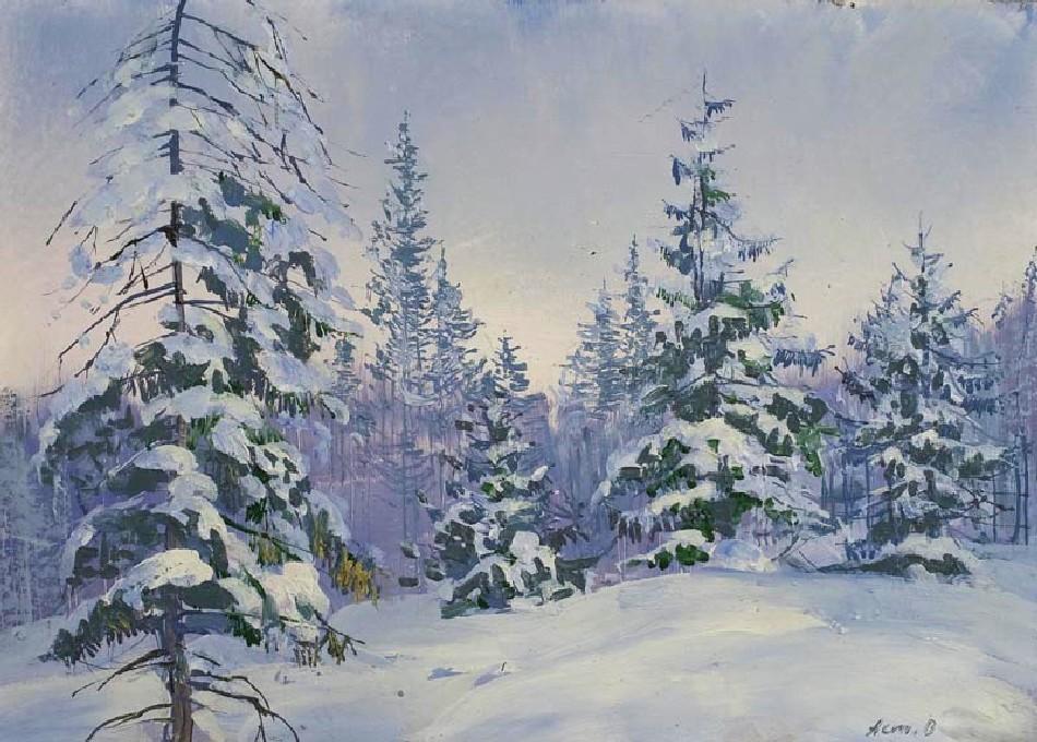 维克多·阿斯塔利采夫画作选04