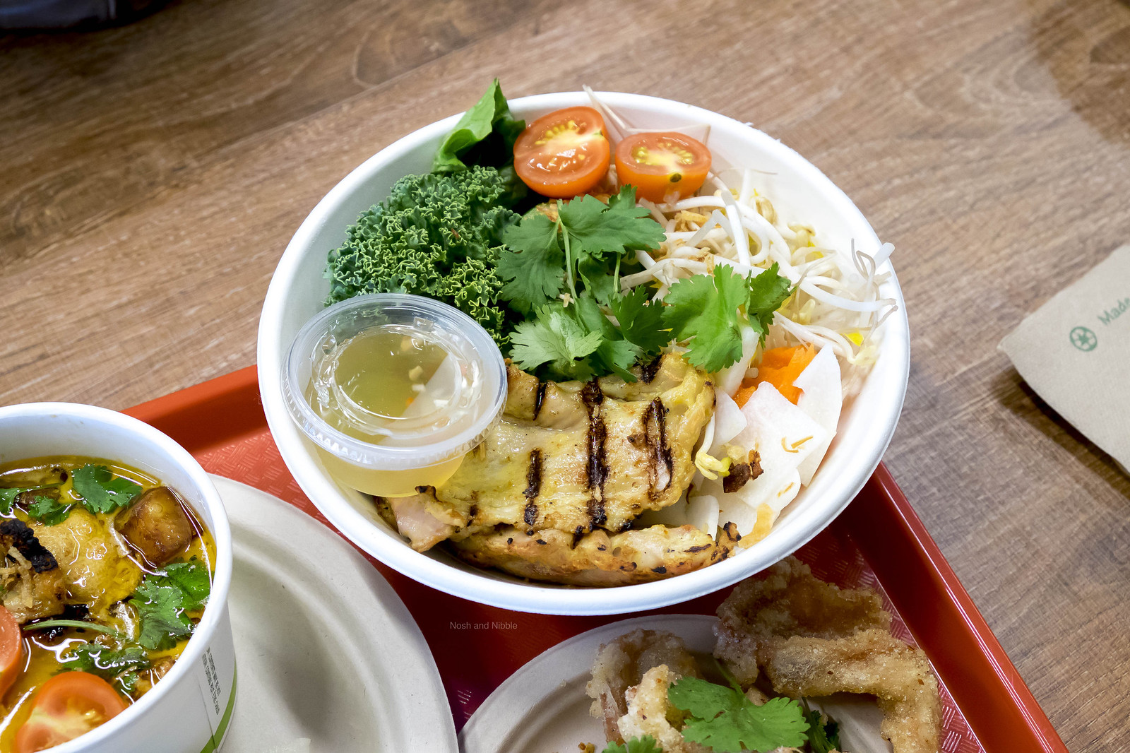 Grilled Chicken Vermicelli Bowl