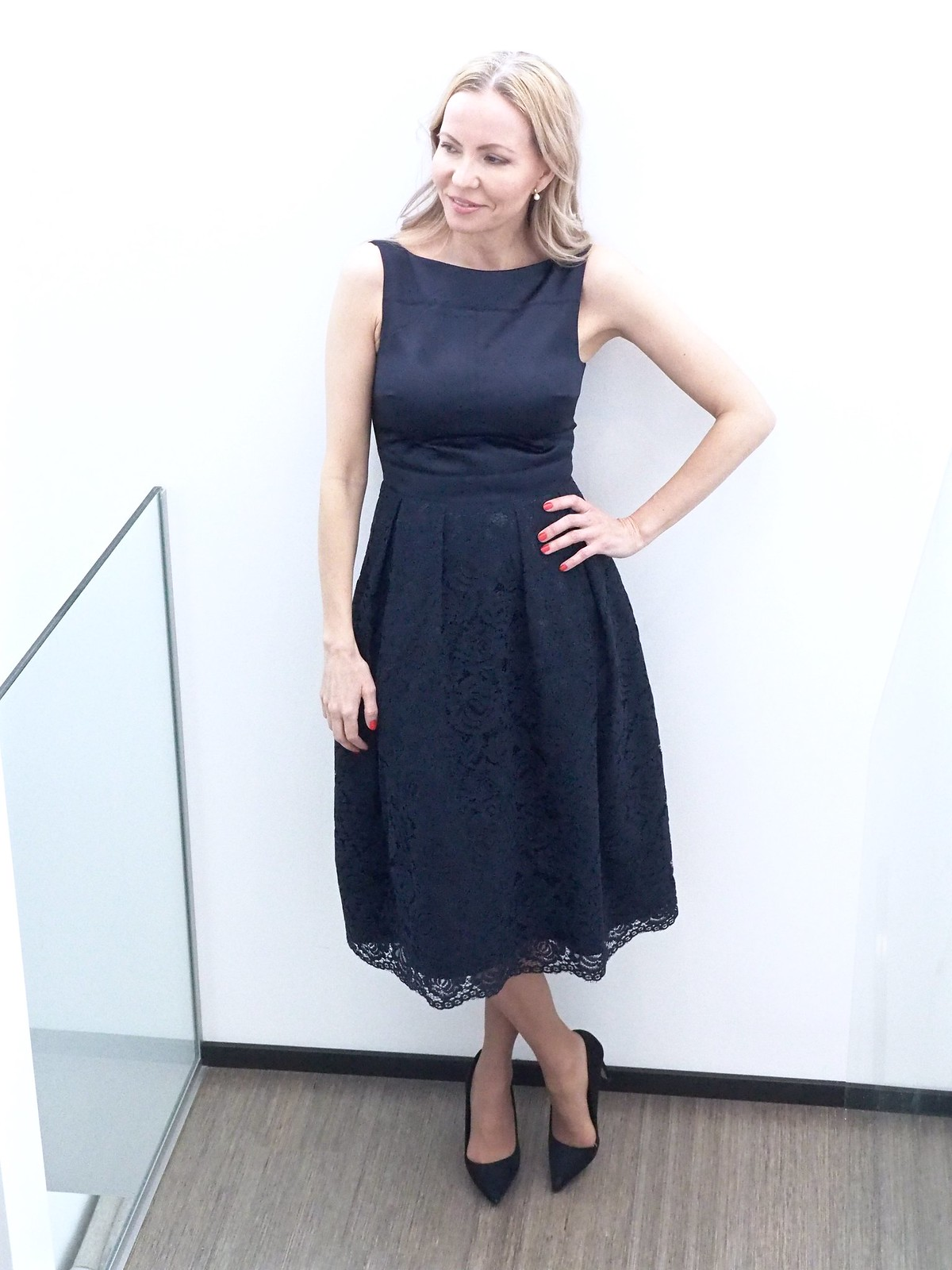 Oasis Finland INT LACE 2 FOR MIDI DRESS