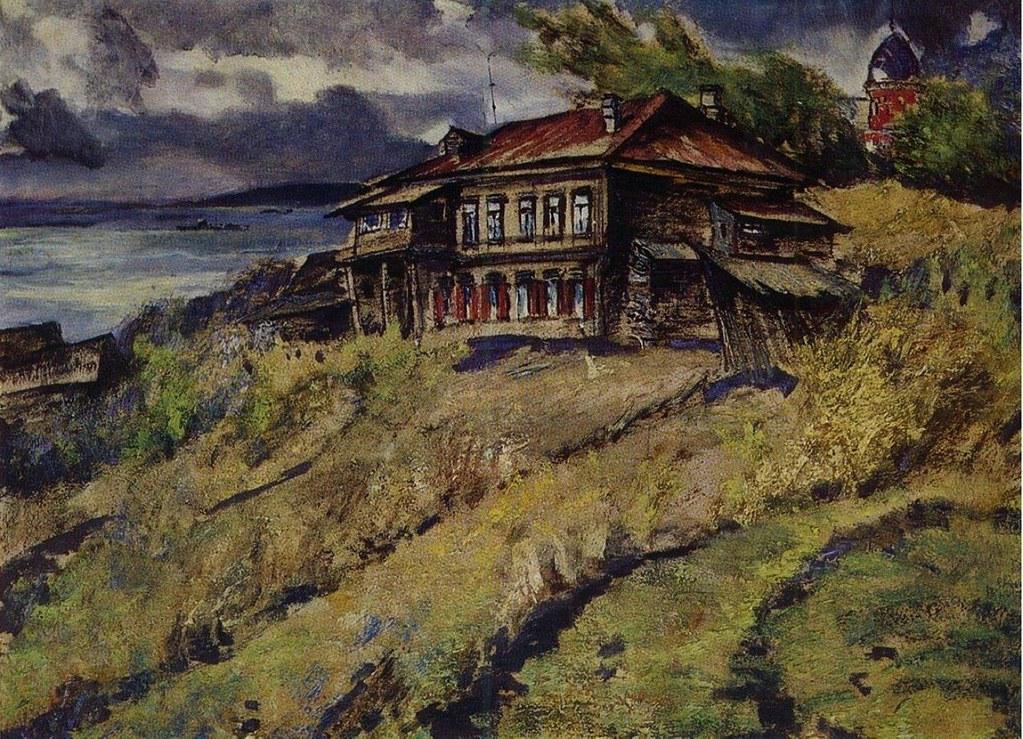 维克多·阿斯塔利采夫画作选16