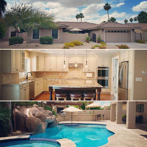 Super high-quality, rare newer construction, 100% #McCormickRanch. Available this weekend, and it's special. $799,000. 8325 E San Salvador Dr, #Scottsdale | by CentralScottsdale