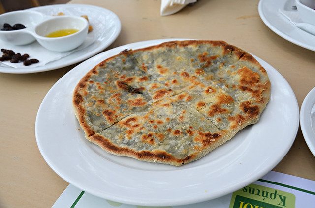 Fennel pie, Botanical Park & Gardens, Chania, Crete